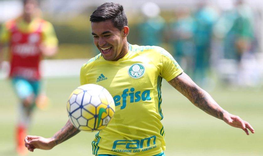 Após vitória no Recife-PE, Palmeiras voltou aos treinos nesta quarta (05). (Cesar Greco/Ag.Palmeiras/Divulgação)