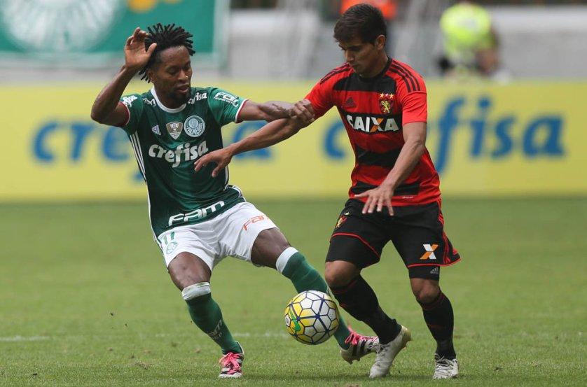 Zé Roberto destacou a importância dos torcedores que empurraram o Verdão até o fim. (Cesar Greco/Ag.Palmeiras/Divulgação)