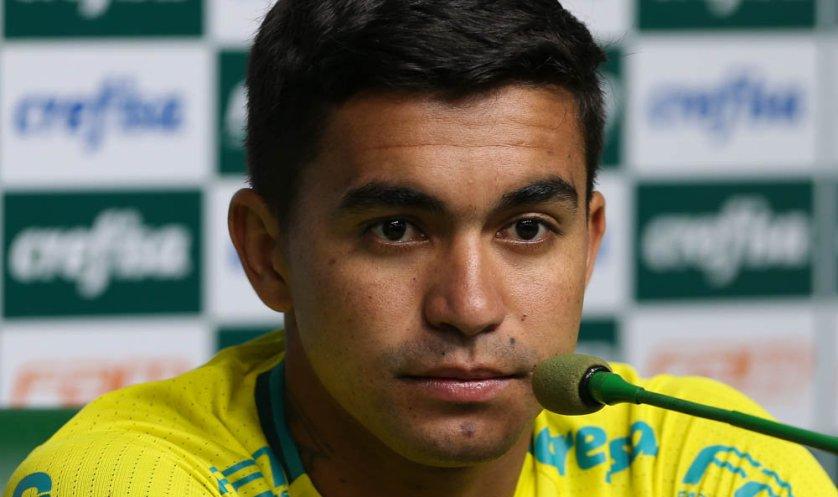 Atual capitão do Palmeiras, Dudu acumula 105 jogos com a camisa alviverde. (Cesar Greco/Ag.Palmeiras/Divulgação)