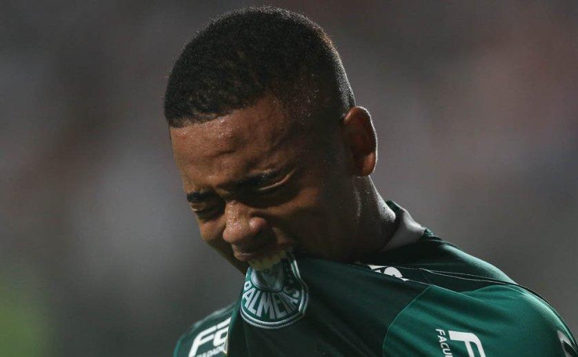 Gabriel Jesus foi decisivo no empate do Verdão diante do Atlético-MG. (Cesar Greco/Ag.Palmeiras/Divulgação)