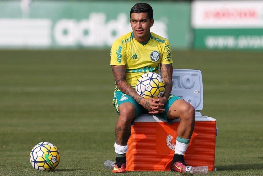 Palmeiras se reapresentou na tarde desta terça-feira (06), na Academia de Futebol. (Cesar Greco/Ag Palmeiras/Divulgação)