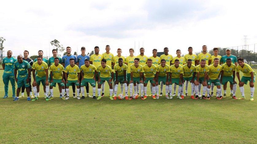 A equipe Sub-20 do Palmeiras segue em preparação para a Copa São Paulo de Futebol Júnior de 2017. (Fabio Menotti/Ag Palmeiras/Divulgação)