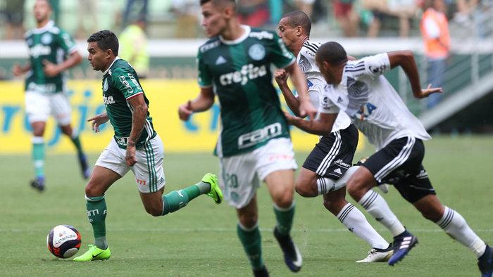 Palmeiras e Ponte Preta fizeram boa partida no último teste antes do Paulistão 2017. (Cesar Greco/Ag.Palmeiras/Divulgação)