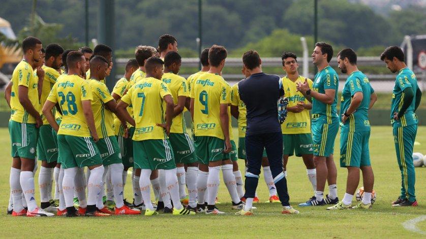 Palmeiras enfrenta o Paranoá na estreia da Copa São Paulo 2017. (Fabio Menotti/Ag.Palmeiras/Divulgação)