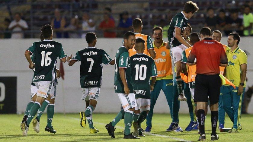 Depois de bater Paranoá, Verdão enfrenta Villa Nova-MG nesta quinta (5). (Fabio Menotti/Ag.Palmeiras/Divulgação)
