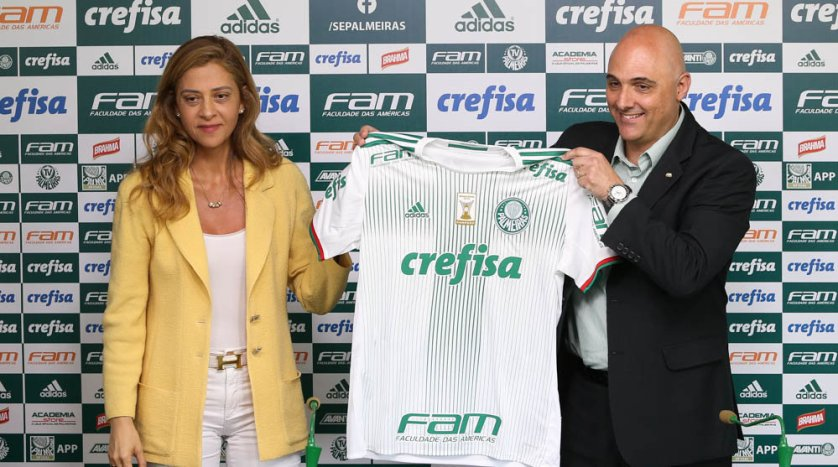 O contrato de patrocínio foi renovado por mais duas temporadas. (Cesar Greco/Ag Palmeiras/Divulgação)