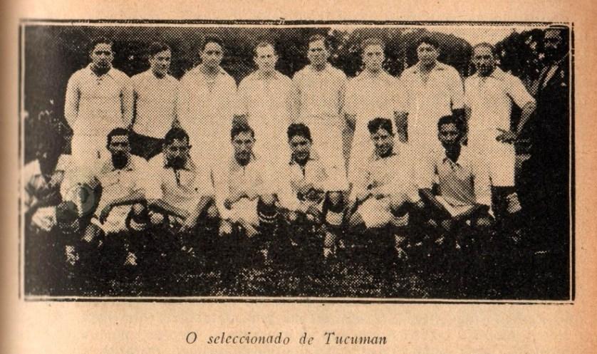 Em 1930, O Palestra Italia venceu por 4 a 1 o selecionado de Tucumán. (Divulgação)