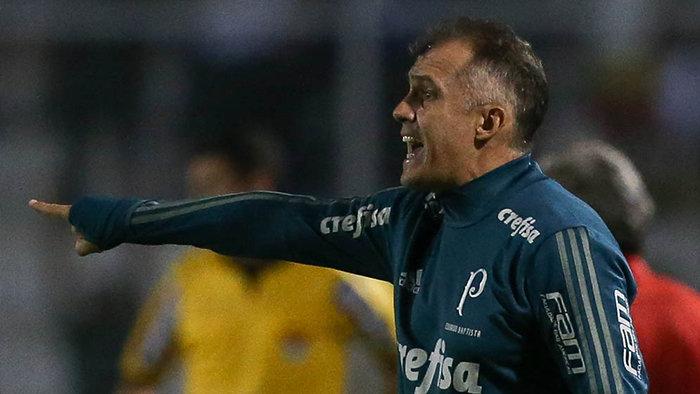 Eduardo elogiou o camisa 28 palmeirense. (Cesar Greco/Ag. Palmeiras/Divulgação)