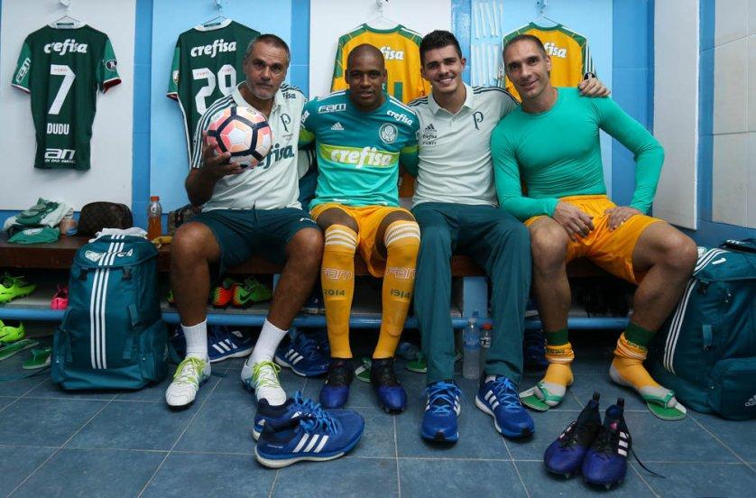 O Palmeiras é referência no treinamento de goleiros no Brasil. (Cesar Greco/Ag. Palmeiras/Divulgação)
