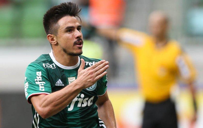 Willian soma quatro tentos pelo Verdão. (Cesar Greco/Ag. Palmeiras/Divulgação)