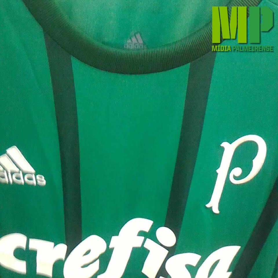 Detalhes da provável nova camisa do Palmeiras para 2017. (Giorgio Migliani)
