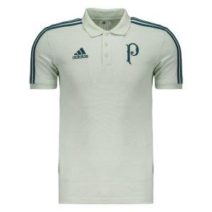 Polo Adidas Palmeiras Viagem II 2017 Branca
