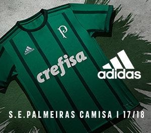 Compre agora a nova camisa do Verdão para a temporada de 2017/18.