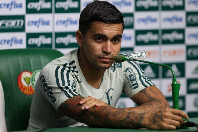 O camisa 7 soma 133 jogos e 30 gols pelo Verdão. (Cesar Greco/Ag. Palmeiras/Divulgação)