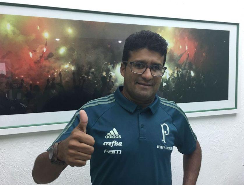 Wesley Carvalho estreia pelo Sub-20 do Palmeiras neste sábado (27), contra o Red Bull Brasil. (Divulgação/Palmeiras)