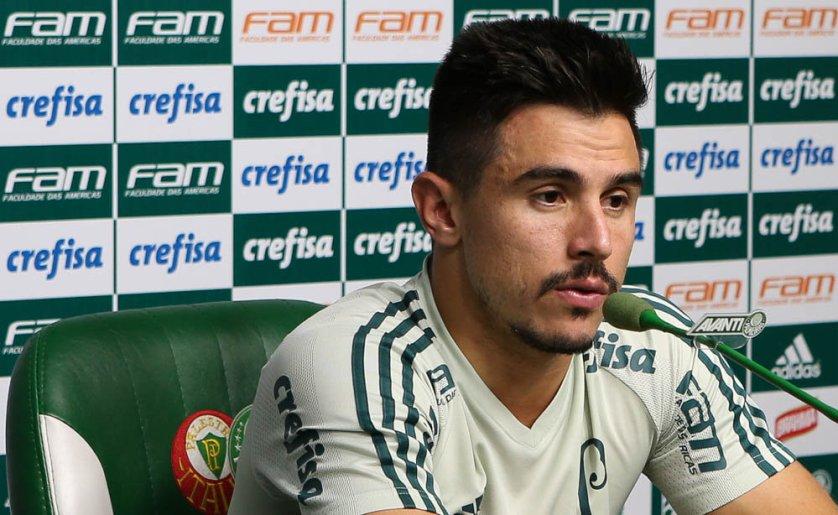 O camisa 29 é o artilheiro do Verdão na temporada com nove gols. (Cesar Greco/Ag. Palmeiras/Divulgação)