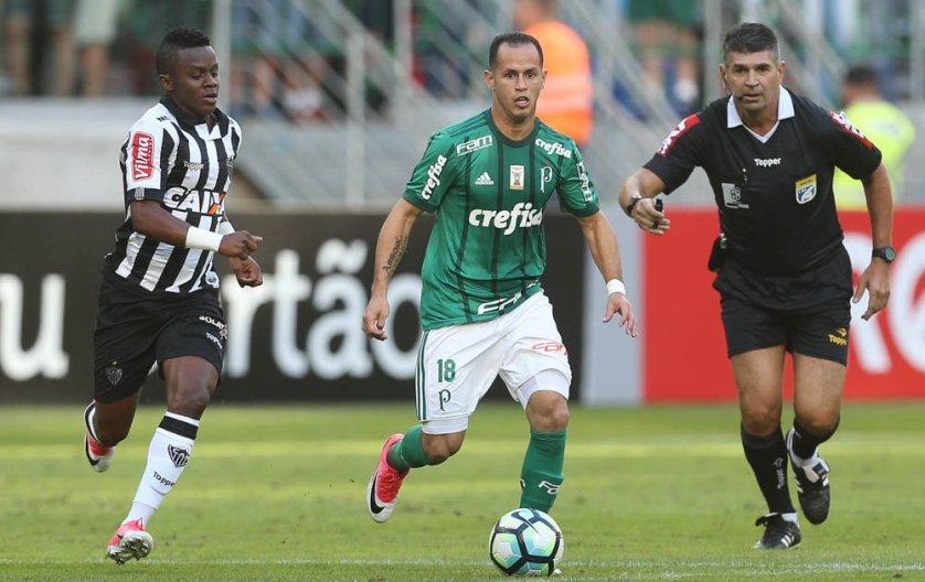 Palmeiras recebeu o Atlético-MG e empatou sem gols. (Cesar Greco/Ag. Palmeiras/Divulgação)