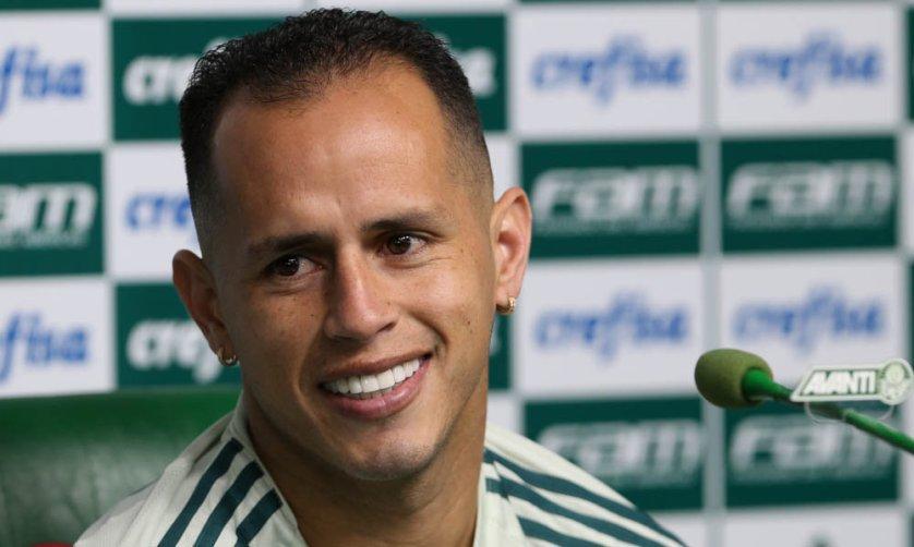 O meia Guerra mostrou motivação para ser ainda mais decisivo durante 2017. (Cesar Greco/Ag Palmeiras/Divulgação)