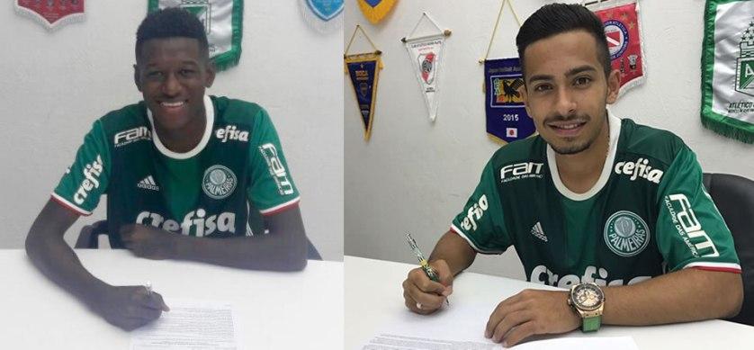 Em março, a dupla ajudou a Seleção Brasileira a conquistar de forma invicta o Sul-Americano Sub-17 do Chile. (Divulgação)