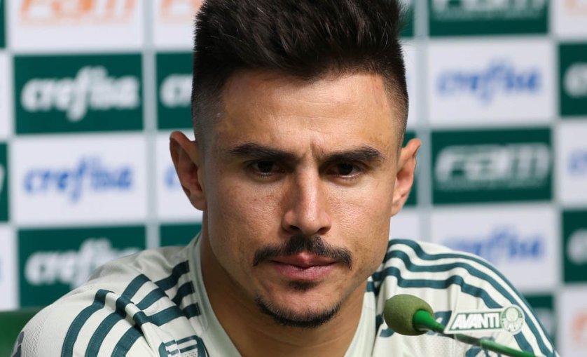 Com 12 gols em 38 partidas, Willian é o principal artilheiro do Palmeiras na temporada. (Cesar Greco/Ag. Palmeiras/Divulgação)
