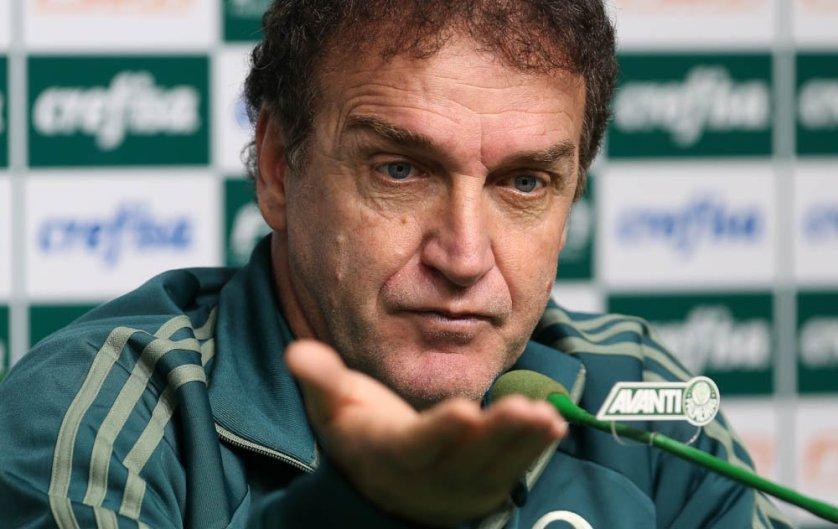 O comandante concedeu entrevista coletiva na tarde desta sexta-feira (11). (Cesar Greco/Ag. Palmeiras/Divulgação)