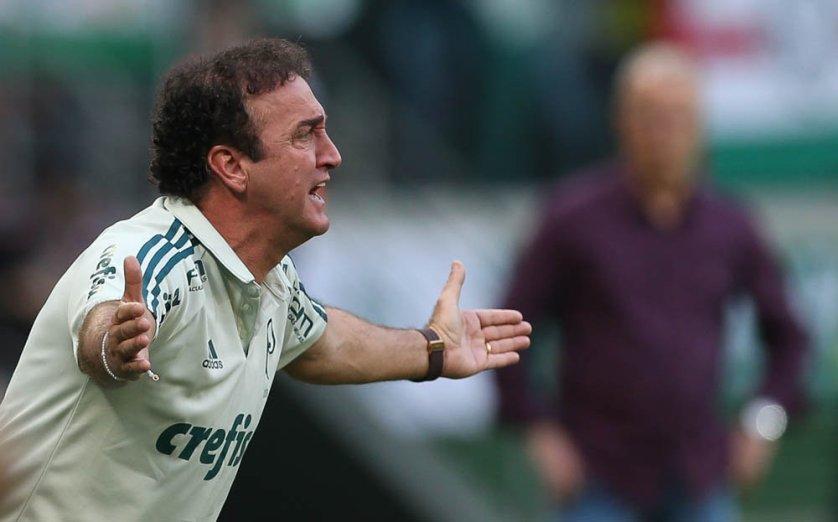 Cuca avaliou a atuação da equipe no Choque-Rei. (Cesar Greco/Ag. Palmeiras/Divulgação)