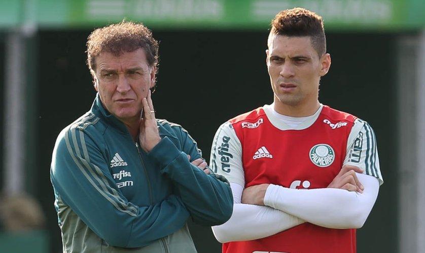 Moisés deve voltar a jogar pelo Verdão contra o Atlético-PR. (Cesar Greco/Ag. Palmeiras/Divulgação)