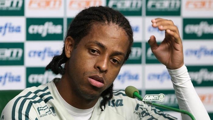 Keno vê clássico contra o São Paulo como 'ponto de virada'. (Cesar Greco/Ag Palmeiras/Divulgação)