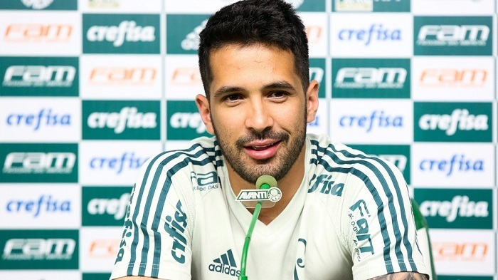 Luan enalteceu a evolução do Verdão e mostrou otimismo com o futuro do clube na temporada. (Cesar Greco/Ag Palmeiras/Divulgação)
