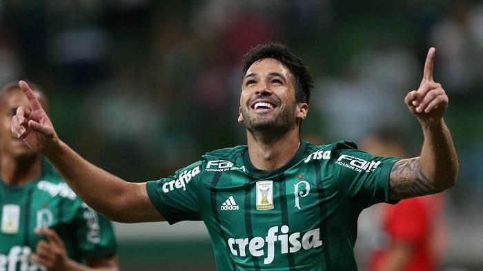 Zagueiro Luan marcou pela 1ª vez em sua 19ª partida pelo Palmeiras. (Cesar Greco/Ag Palmeiras/Divulgação)