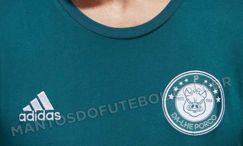 Linha casual utiliza oficialmente o porco, mascote popular do Verdão. (Mantos do Futebol/Reprodução)