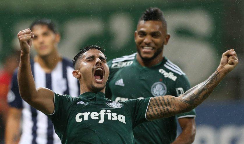 Palmeiras lidera Grupo 8 da Conmebol Libertadores com seis pontos. (Cesar Greco/Ag Palmeiras/Divulgação)