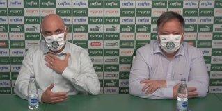 Galiotte e Anderson Barros falam em coletiva após demissão de Luxa