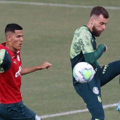 Treino: Com 14 jovens da base, Palmeiras treina para jogo contra o Sport