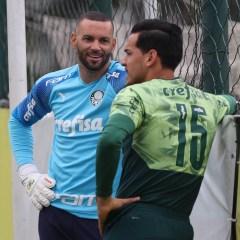 Weverton e Gustavo Gómez são os representantes do Palmeiras na seleção do 'Bola de Prata'