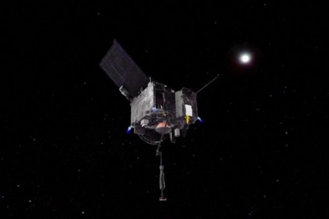 NASA spacecraft touches asteroid Bennu