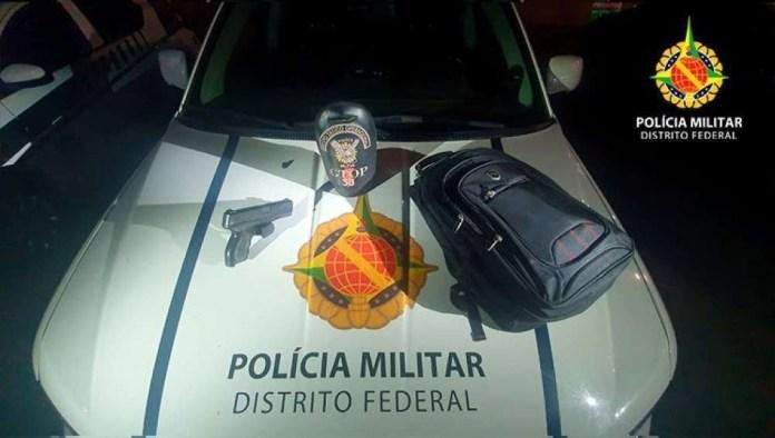 Policiais encontraram mochila de Magno Lúcio com homem preso por suspeita de tentativa de latrocínio contra cinegrafista do SBT