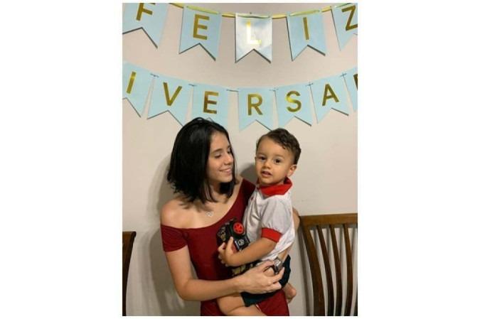 Yasmin Nunes celebrou os 2 anos de Yuri em casa: por ter quase a mesma idade da pandemia, o pequeno teve pouca interação social