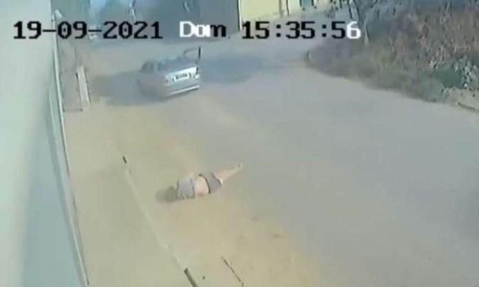 Mulher é atropelada na porta de casa em Pouso Alegre e motorista foge sem prestar socorro