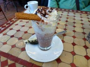 Viennese hot chocolate