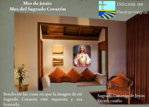 MES DE JUNIO, MES DEL SAGRADO CORAZÓN DÍA 15