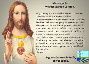 MES DE JUNIO, MES DEL SAGRADO CORAZÓN DE JESÚS DÍA 16