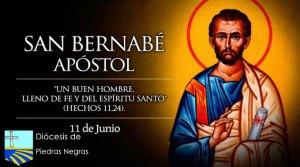 """Hoy celebramos a San Bernabé, el Apóstol """"que anima y entusiasma"""""""