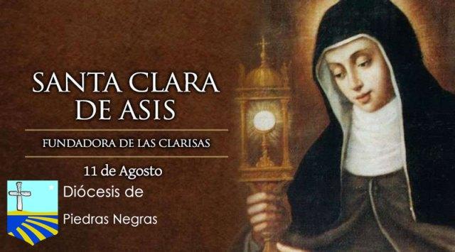 "Hoy se celebra a Santa Clara de Asís, la ""renovadora"" de la Iglesia"