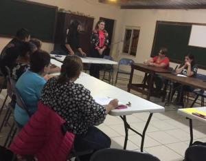 GALERÍA: ESCUELA DE LA FE VISITA LA RECTORÍA DE SAN MARTÍN DE PORRES