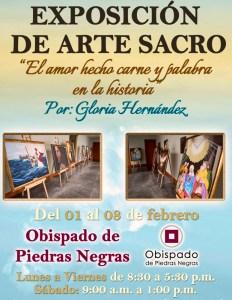EXPOSICIÓN DE ARTE RELIGIOSO EN PIEDRAS NEGRAS