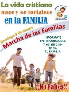 ASISTE A LA MARCHA DE LAS FAMILIAS EN TODA LA DIÓCESIS DE PIEDRAS NEGRAS