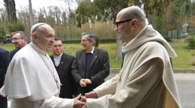 Papa Francisco concluye sus ejercicios espirituales