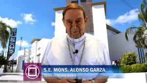 VIDEO: MONS. ALONSO G. GARZA TREVIÑO INVITA A LA MISA CRISMAL