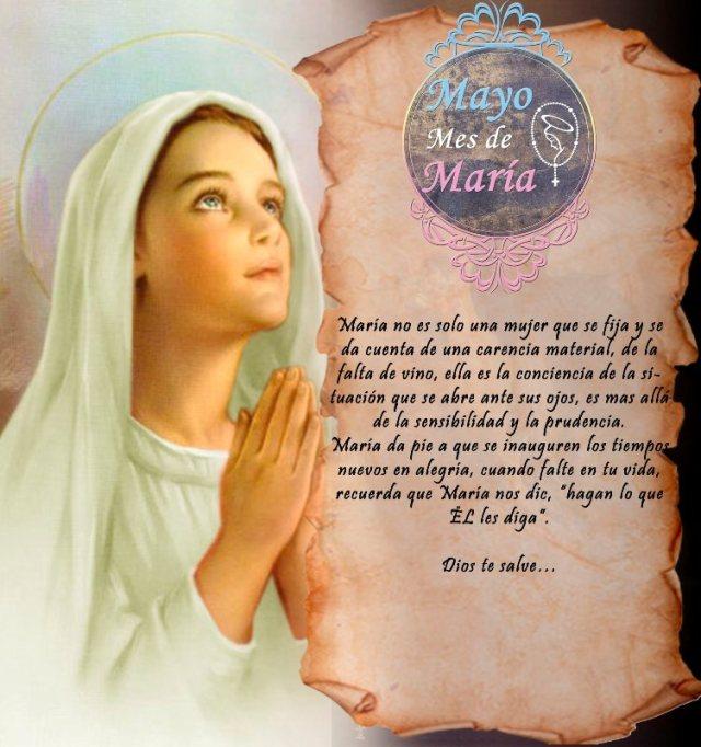MAYO MES DE MARÍA (15 DÍA)